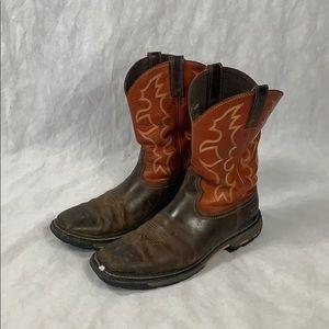 Ariat Boy's Earth Workhog Western Cowboy Boots
